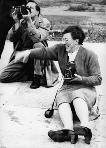 Isabel Smith with camera