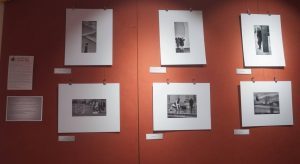 Mono prints by Toby at Cafe Red
